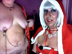 Mistress Christmas and her sub bitch Katrina pt 3