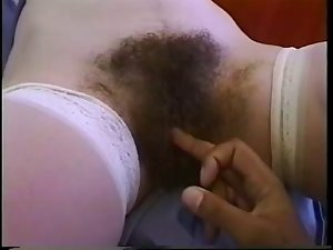 Filthy Mega hirsute Nurse receive shaft in her Butt