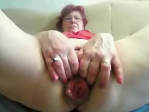 55yr aged Granny Bangs Fist Prolapse her Vagina and Dirty ass on Cam