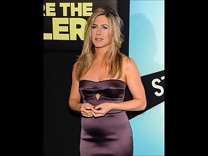 Jennifer Aniston Cum Challange