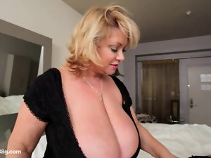 Cute bbw Puma Rubber toys Luscious Heavy Big titted Cutie in Hotel Room