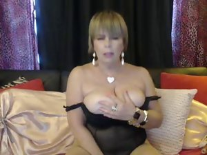 Skanky momma talking lewd