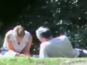 Slutty wife Shared In Public Park