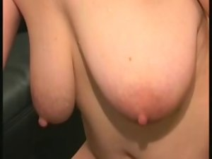 Alluring saggy experienced toying and banging