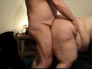 Lewd FUCK #144 (SSBBW) Side Angle View, Doggystyle