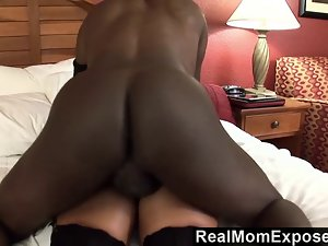 Top heavy filthy bitch needs a creampie to relax