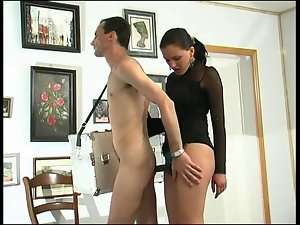 Dark haired Sensual russian Strapon Lady 3