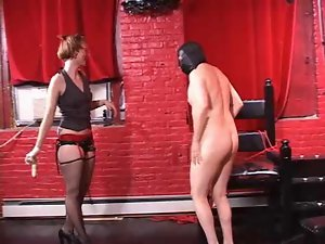 Pierced Mistress in Dungeon