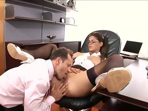 Banging my secretary butt