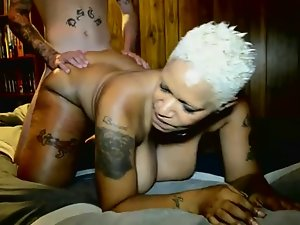 Voluptuous Ebony Attractive mature Gets Banged Dirty