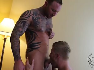 Johnny V & Dylan James Flip-Fuck