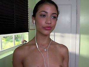 Latina body with wee forms loves to ride the pecker of her boss