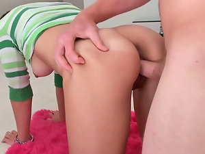 Juicy slutty girl Amy gets banged like a bad lady