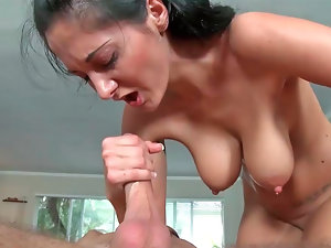 Racy Mommy Ava Addams gets porked wild from behind