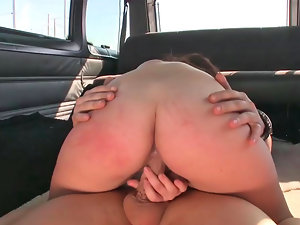 Dreamy Latina delights having brutal kinky sex in a van