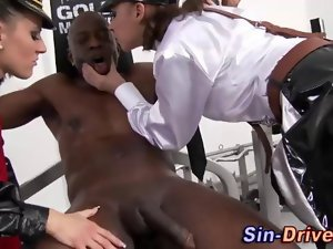 CFNM execution with a black dude