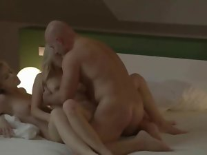 Ultra erotic fairhairs ffm triplet clip 2