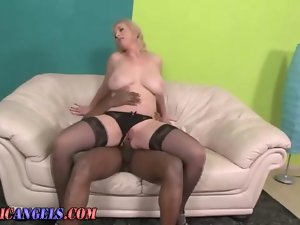 Big titted attractive mature hoe thumped deep in her dampish muff