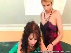 High-def outdoor satin and silk lesbo sex episode segment