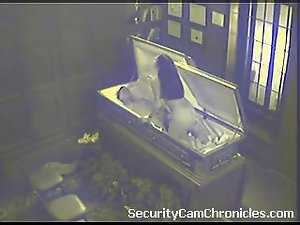 Filthy security camera sex hidden cam