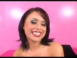 Eva Angelina is comely in pink!