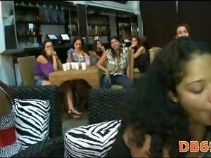 Bachlorette party goes crazy dick sucking 12