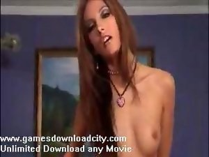 Attractive Strip Tease Then Fuck