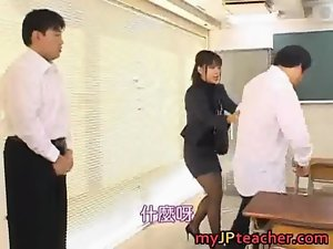 Bunko kanazawa slutty asian teacher film