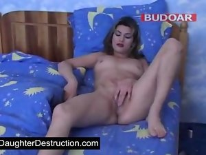 19 years old young lady accepts fat dick in her mouth and twat movie