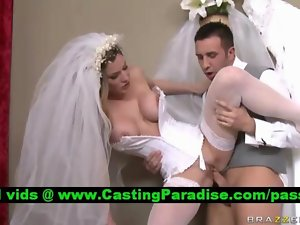 Kayla Paige, perfect bride banged realy rough