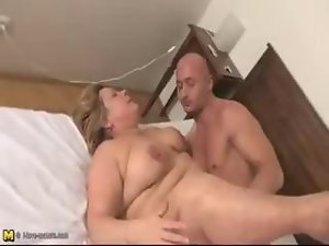This big aged vixen loves getting banged wild