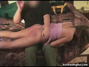 Bad tart Alicia spanked