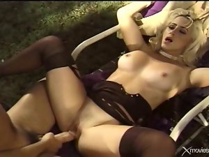 Sexual lady banged amateur 2