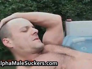 Steamy gay wild banging and fellatio clip 2