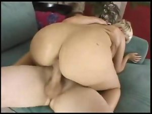 Filthy blond banging her bum movie