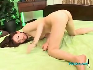 Asian Lass With Little tiny breasts Banged By Lads Creampies On The Bed