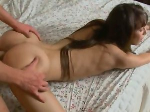 Bony sensual russian girl having cum in fanny movie