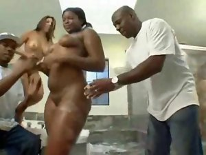 Big Phat Lactating Butt Naughty bum Hoes Bathing Naked