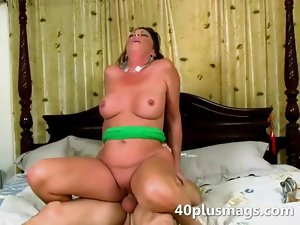 Mean looking cheating wife goes deep