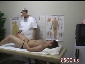 top heavy filthy bitch creampie banged by doctor