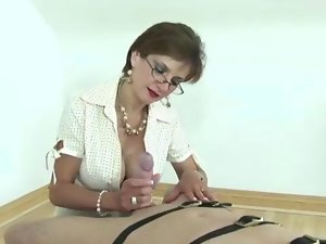 English lady sonia in stockings video