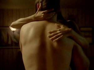 Thandie Newton Sex Shot in Rogue s1e5 2013