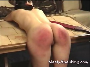 Bum raw and red spanked