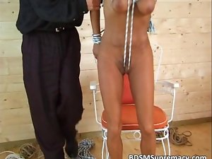 This video features episodes of all BDSM