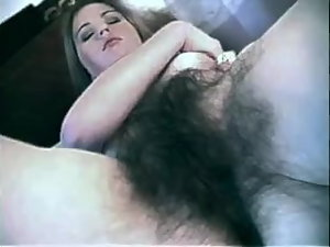 Great Wench with a Thick Hirsute Vagina