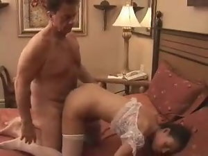 Rich experienced man bangs his fuckslut