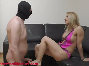 Foot job by Princess Nikki