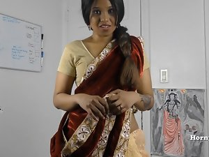 HornySouth Indian sister in law roleplay in Tamil with subs