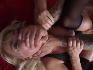 Her husband is into some devious and hardcore banging